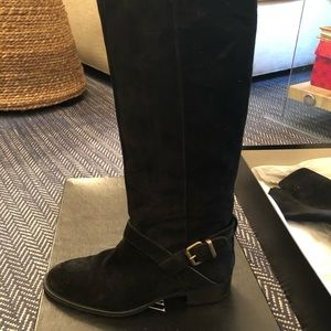 J.Crew Lowell Suede Buckle Boots Size 7